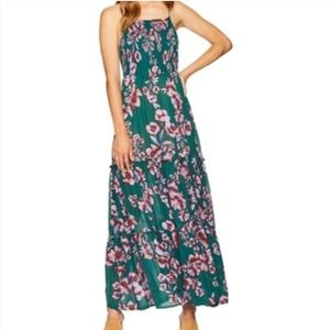 Free People Garden Party Maxi Dress in Turquoise